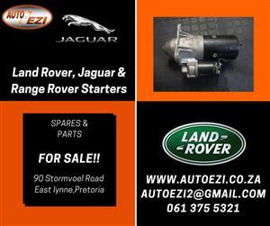 Land Rover, Jaguar & Range Rover Starters AUTO EZI