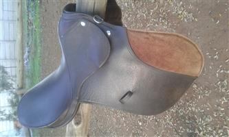 Brown starter saddle for sale