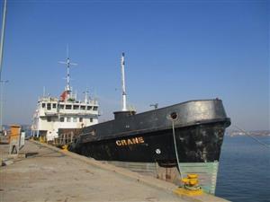 'CRANE'' Grab Hopper Dredger Boat
