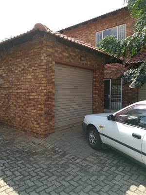 Lovely townhouse for rent in Clarina, Pretoria North
