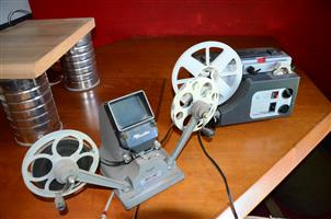 Old 8mm cine equipment