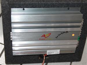 S034904A Audio fusion 6000w 4 channel car amp #Rosettenvillepawnshop
