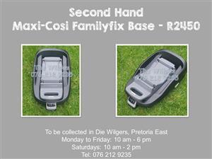 Second Hand Maxi-Cosi FamilyFix Base