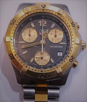 TAG HEUER 2000 CK1120 Chronograph