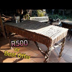 Wooden stick table for sale