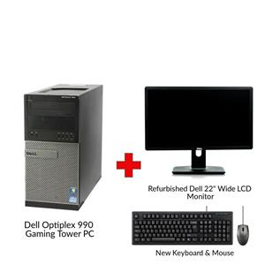 Refurbished Dell Optiplex 990 Gaming Tower PC