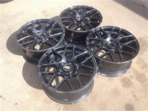 17' A-Line Mag rims without tyres