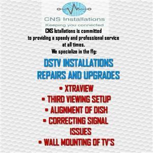 ACCREDITED DSTV INSTALLER CALL 0624953862