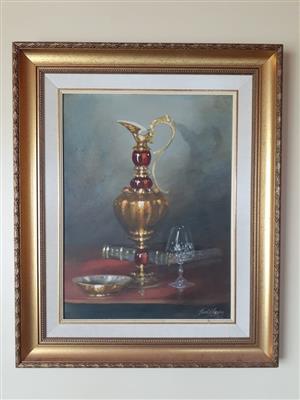 Denzil N Herring Painting for Sale