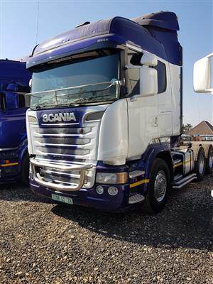 We have a wide range of Scania R460