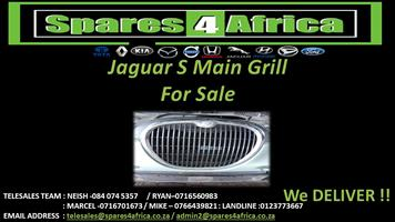 JAGUAR S MAIN GRILL FOR SALE !!