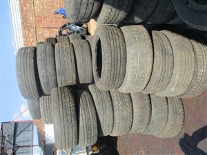 JEEP, DODGE, CHRYSLER & CADILLAC USED TYRES ON SPECIAL R200 – R500