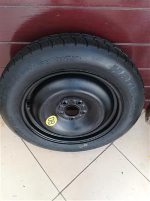 16 inch Ford Focus Space Saver Marie Biscuit Spare Wheel R1500