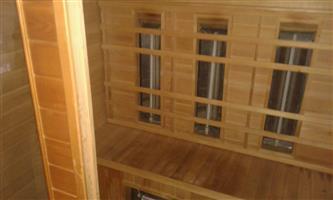 Sauna 3 people very good working condition