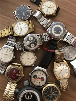 Wanted! Vintage Swiss Watches