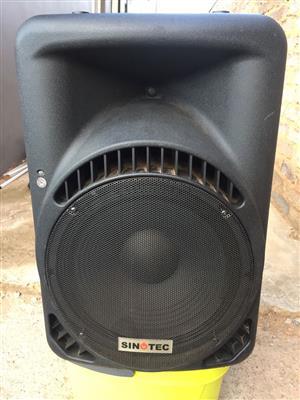 Sinotec SB-1525B Speaker box.