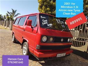 2001 VW Microbus