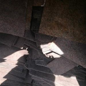 """square """"tile"""" carpets"""
