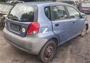 Chevrolet Aveo 1.5lt 2005 Stripping for spares