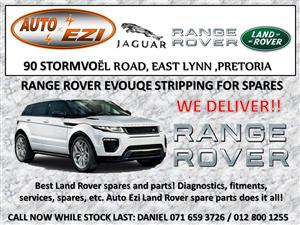 RANGE ROVER EVOQUE SD4 ENGINE FOR SALE !!!