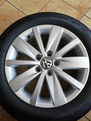 Mag and Tyre for VW Passat