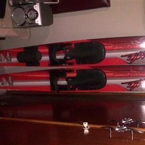 Ron Marks water skis and pocket rocket combo