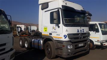 Mercedes 2646 chassis cab,Hydraulics