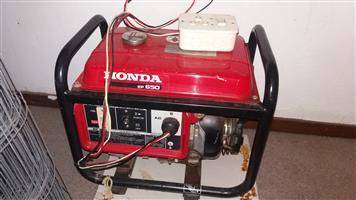 Honda EP650 Generator