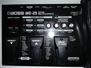 Boss M E 25 Guitar Effects