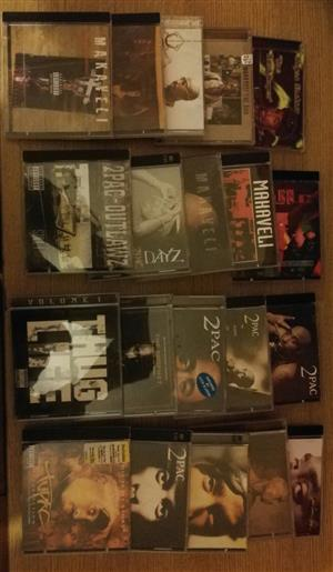 Tupac CD collection