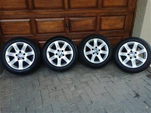 "BMW 16"" Mags with Runflat Tyres"