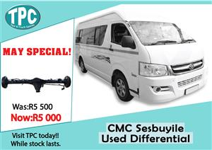 CMC Sesbuyile Used Differential For Sale at TPC