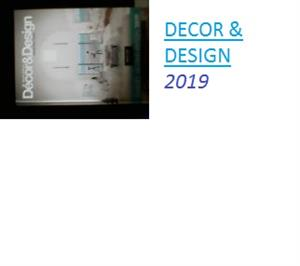 SA Decor and design 2019 22nd edition hardcover book