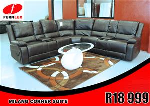 CORNER LOUNGE SUITE MILANO FOR ONLY R18 999