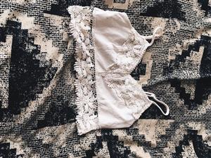 White mini top for sale