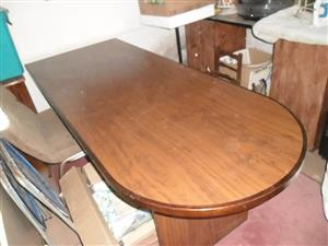 Oval shaped desk for sale