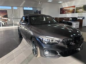 2019 BMW 1 Series 120i 5 door Edition M Sport Shadow auto