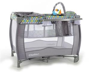 Chelino Siesta Camping Cot with Mattress and free bedding
