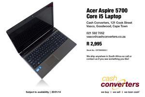 Acer Aspire 5700 Core i5 Laptop for sale  Parow