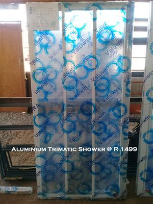 New Aluminium Trimatic Shower