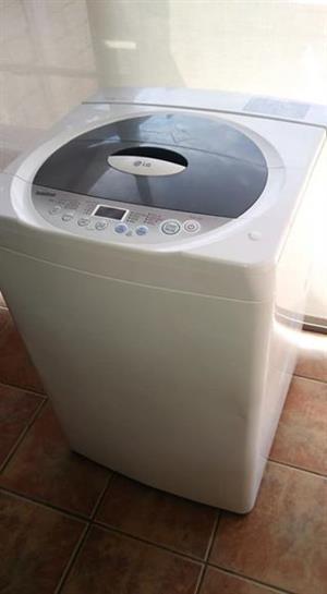 LG toploader washing machine.