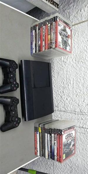Playstation 3 500gb met 25 games