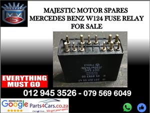 Mercedes benz W124 fuse box relay for sale