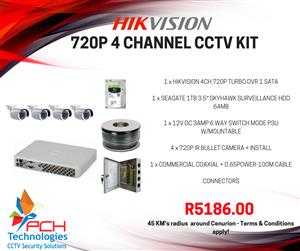 Hikvision CCTV kits special!!
