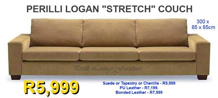 "​​PERILLI LOGAN ""Stretch"" Couch. ​300cm Across."