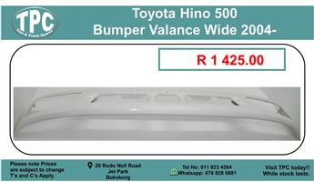 Toyota Hino 500 Bumper Valance Wide 2004- For Sale.