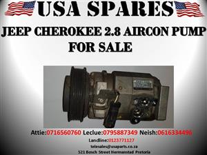 JEEP CHEROKEE 2.8 USED AIRCON PUMP