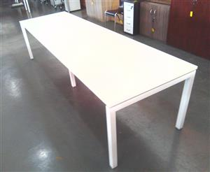 8 Seater maple boardroom table