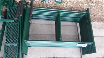 Scaffolding H Frames basic complete set of 6m H x 1.5m W