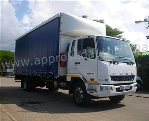2014 Mitsubishi Fuso FK13-240 Curtain Sides used truck - AA3016